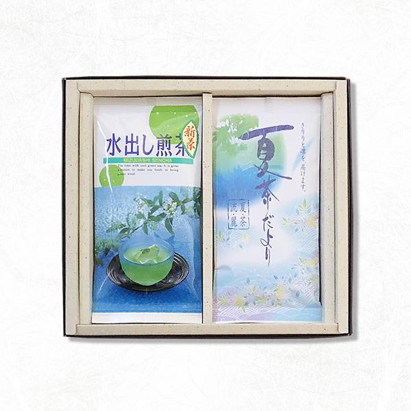 夏茶だより(特上煎茶(100g袋入))・水出し煎茶(100g袋入)