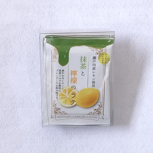 抹茶と檸檬のラテ(12g×5袋入)