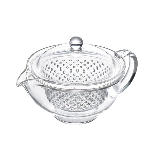 数量限定 クリアティーポット(カラー/クリア) お試し茶葉付(袋のデザイン、茶葉は選べません)