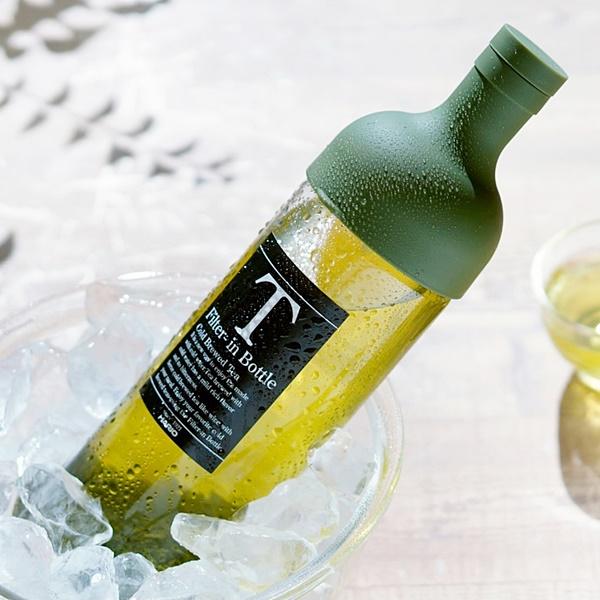 フィルターインボトル 750ml(限定カラー各色) (緑茶 煎茶 日本茶 プレゼント 贈り物 セット ボトル  コールドブリュー)