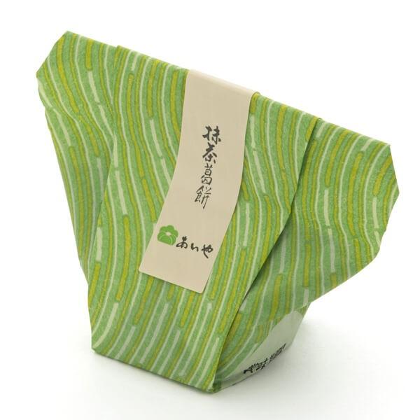 抹茶葛餅(8ケ入) (お菓子 贈り物 ギフト 和菓子 お茶菓子 茶道)(6/27入荷予定)