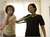 体操用ゴムチューブ 腰痛 肩こり 静脈瘤 対策 運動 トコちゃんベルト姉妹品 青葉製