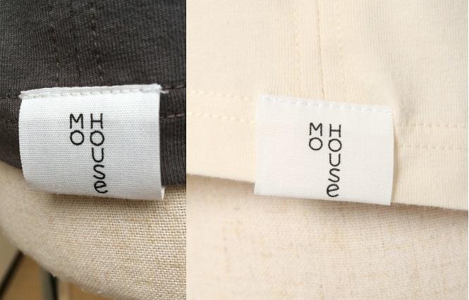 穴あきシャツ 一分袖 モーハウス 授乳用インナー モーブラ姉妹品 日本製【ネコポス可1個】