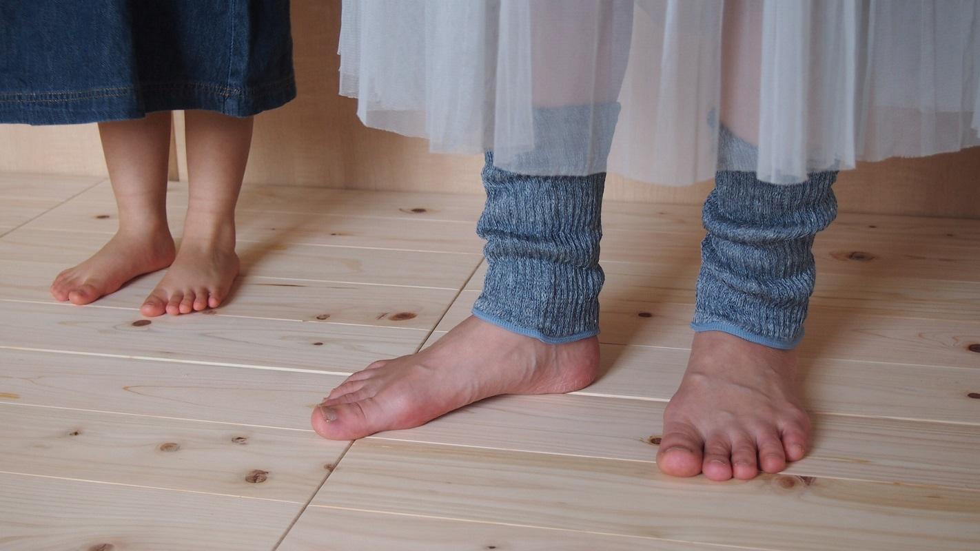 シルクリネン二重織足首ウォーマー カラー:きなり グレー ブルー さくら ハニークリーム (国産・国内縫製)【ネコポス可2個】