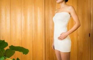 【ポイント10倍】ママチョイスのシルク腹巻き フリーサイズ ロング丈 はらまき シルク100%弱(99%)【ネコポス可1個】