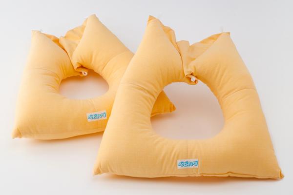 マタニティ用クッション 大小2枚組 トコちゃんベルト 青葉製 妊娠中のうつぶせ寝  送料無料