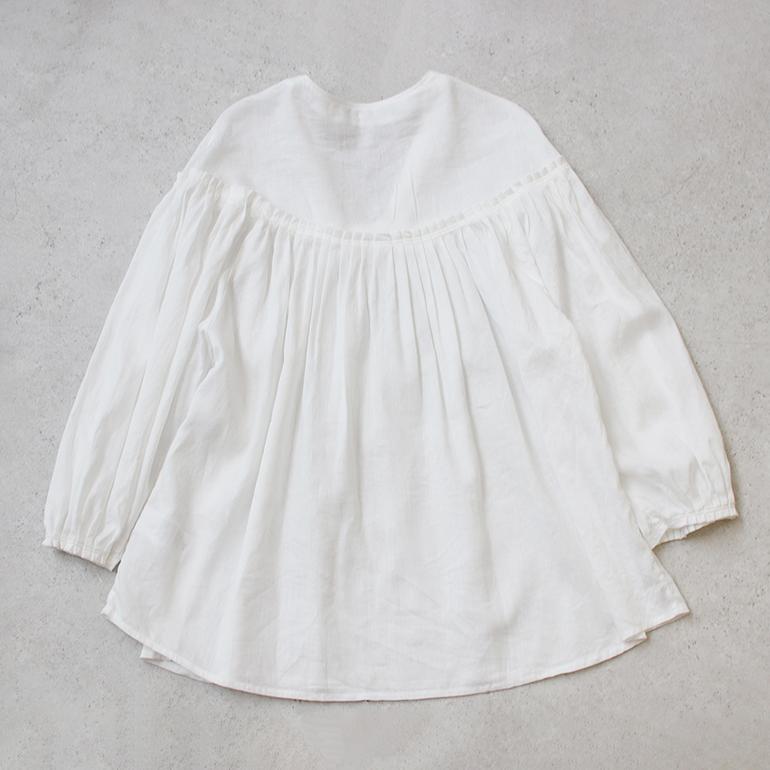 Ataraxia アタラクシア|Tuck blouse shirt