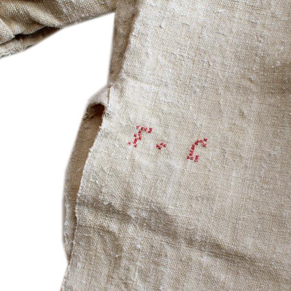 ANTIQUE|リネングランパシャツ