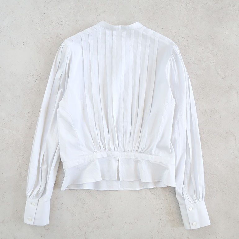 humoresque ユーモレスク|tuck blouse