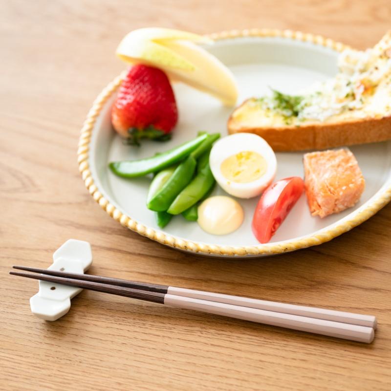 食洗機対応箸 HASHIKURA SEASON01 ウェンジ八角 22.5cm