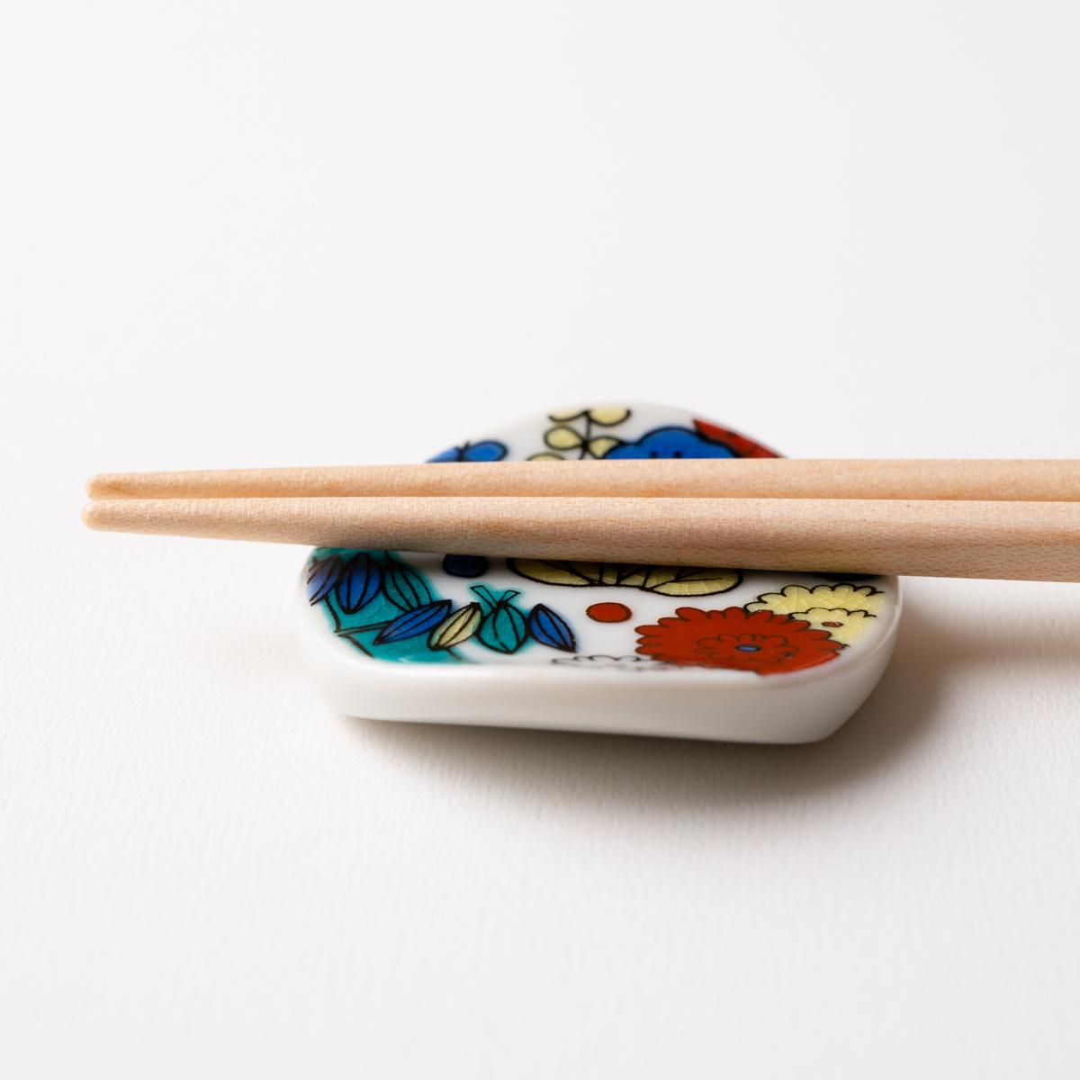 食洗機対応箸 KUTANI SEAL お花の箸 22.5cm
