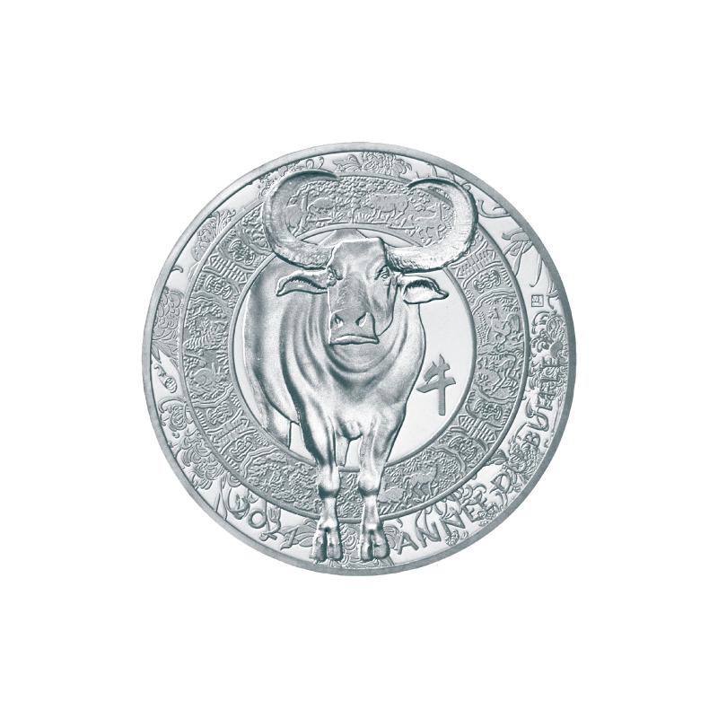 丑年牛図記念コイン D.銀貨5種セット