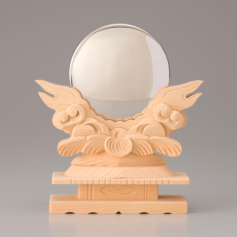 純プラチナ製 御神鏡 3寸5分御神鏡