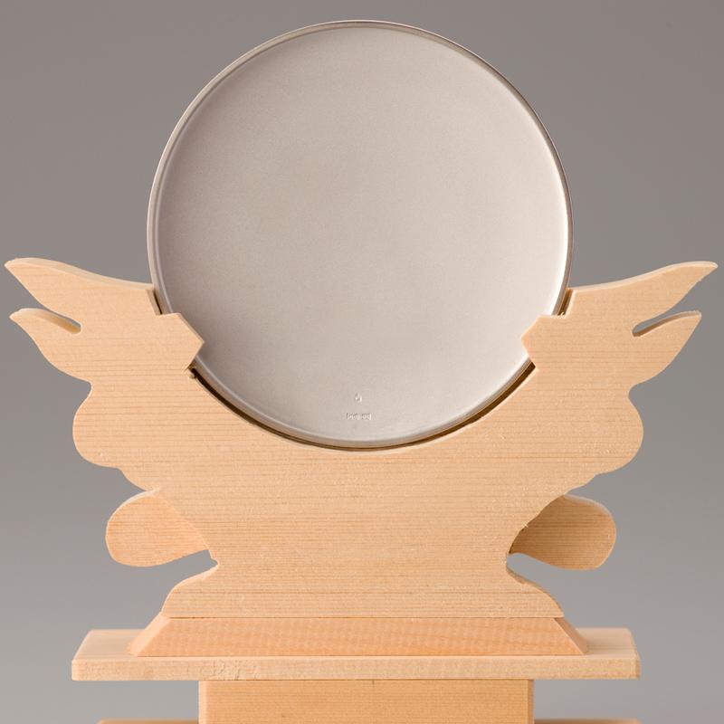 純プラチナ製 御神鏡 3寸御神鏡