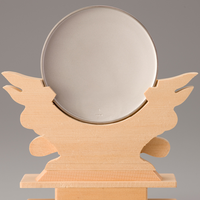 純プラチナ製 御神鏡 2寸御神鏡
