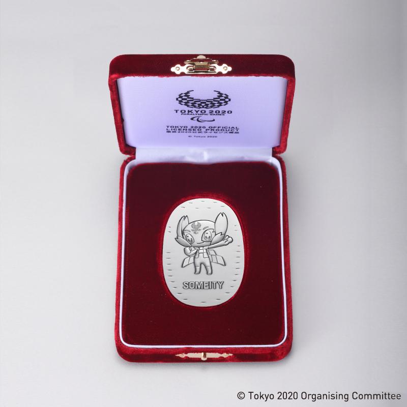 東京2020パラリンピック競技大会公式ライセンス商品 ソメイティ記念小判 純銀製