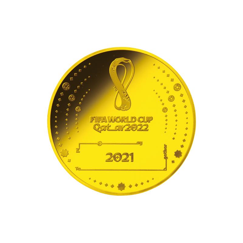 FIFAワールドカップカタール2022公式記念コイン 第1次予約販売 A.フランス200ユーロ金貨
