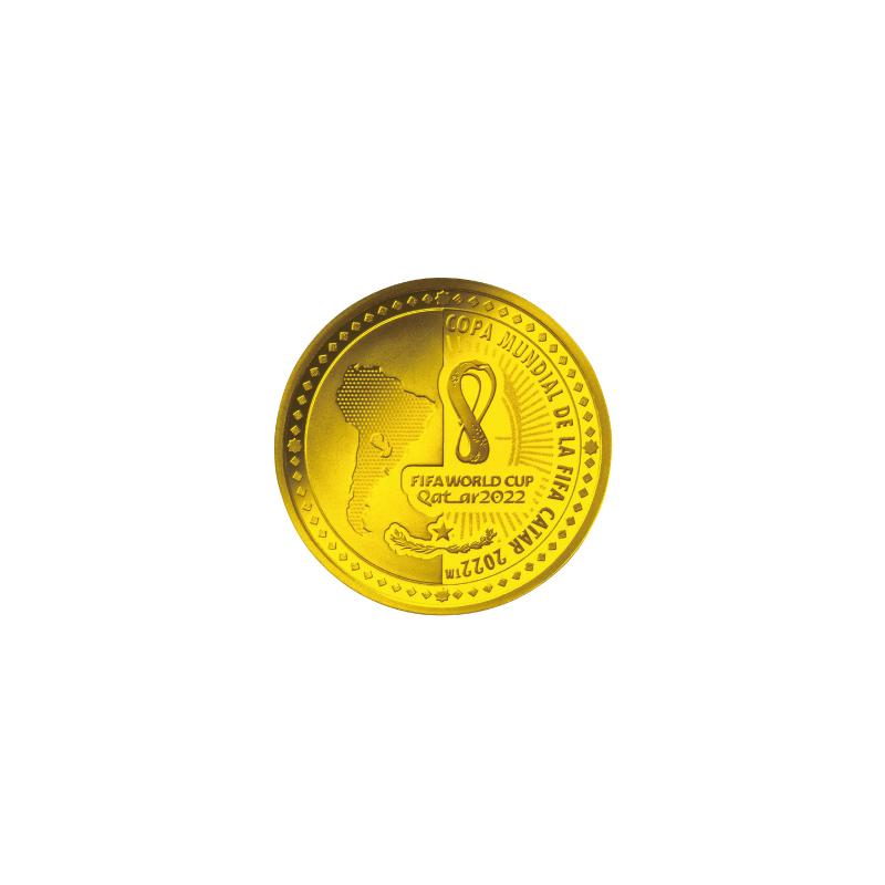 FIFAワールドカップカタール2022公式記念コイン 第1次予約販売 E.金貨3種セット