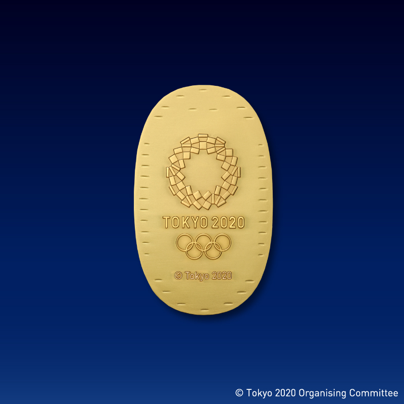 東京2020オリンピック競技大会公式ライセンス商品 ミライトワ記念小判 純金製・小