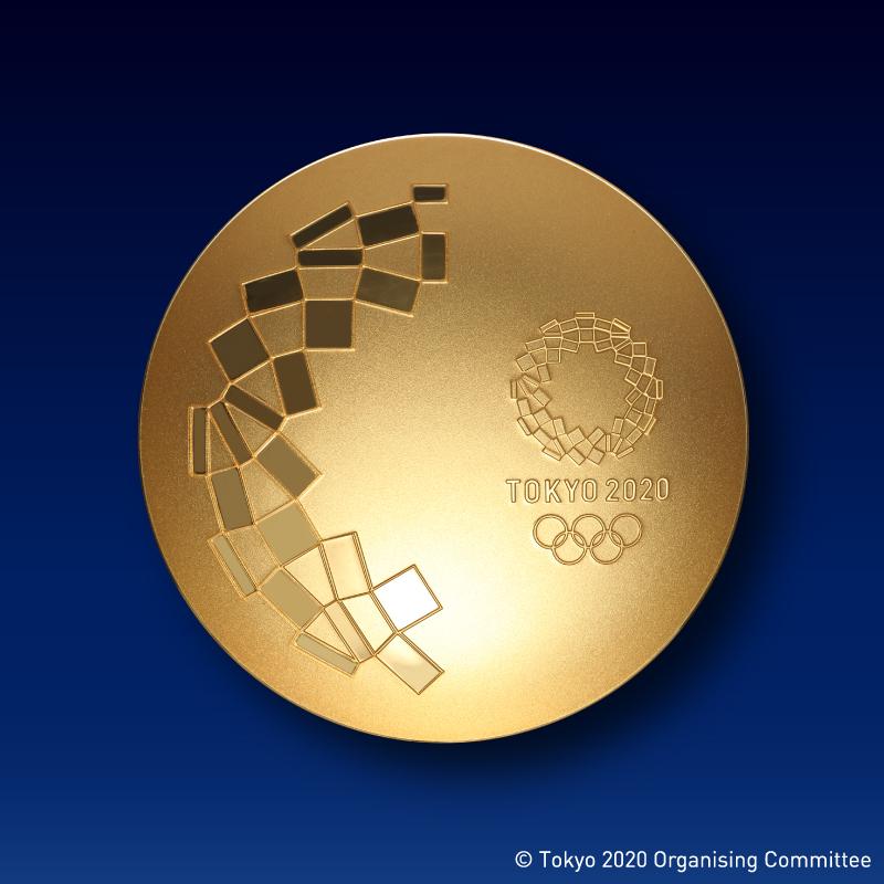 東京2020オリンピック競技大会公式ライセンス商品 記念御盃 純金製2寸