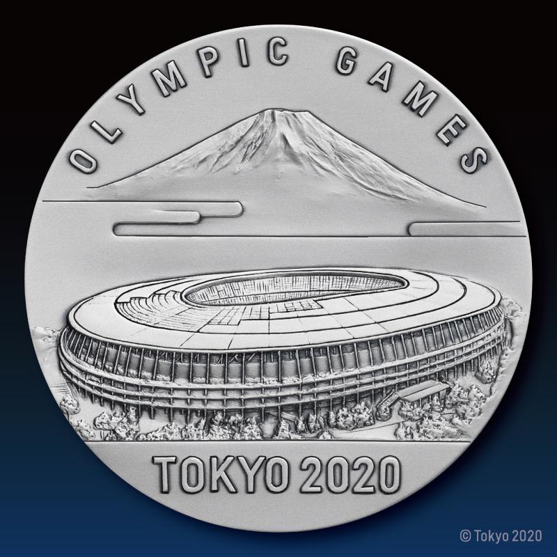 東京2020オリンピック競技大会公式ライセンス商品 記念メダリオン 純銀製