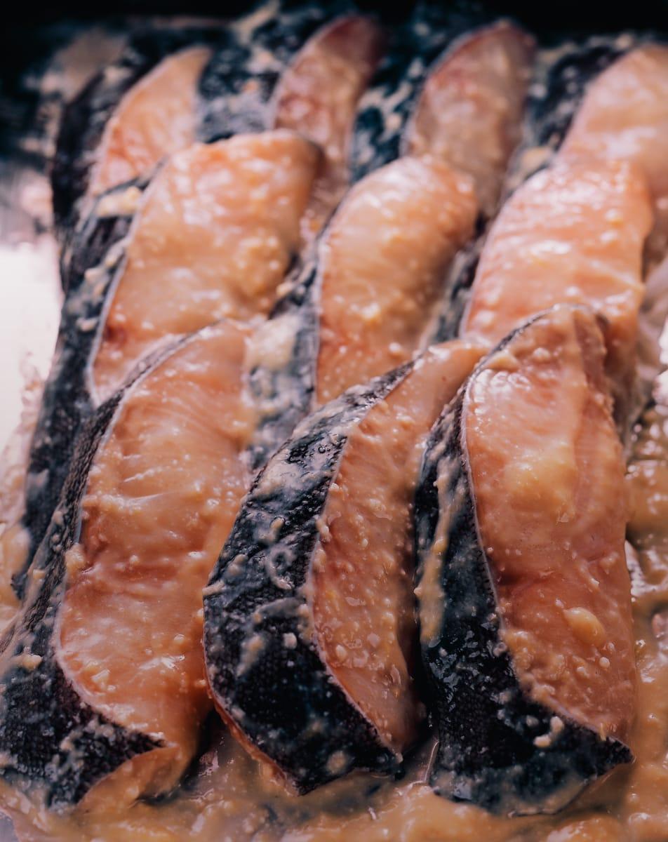 うま味西京漬 銀鱈(8切入)【簡易家庭用タイプ】