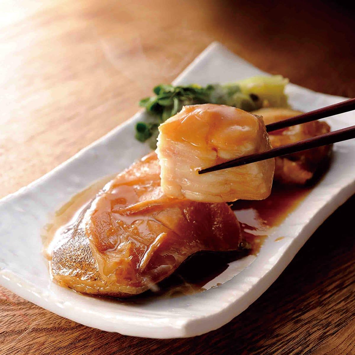 ふっくら焼きしっとり煮 二段熟成 おすそわけセット(12切)