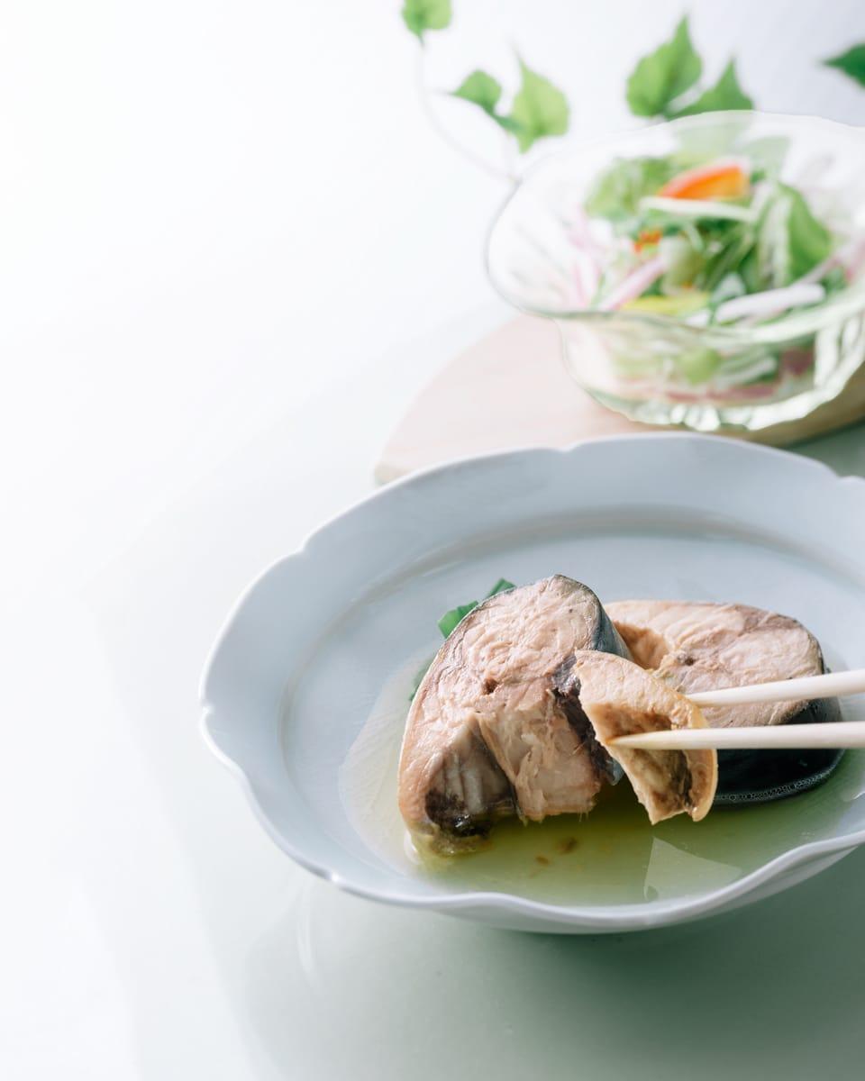 国産鯖使用 鯖水煮