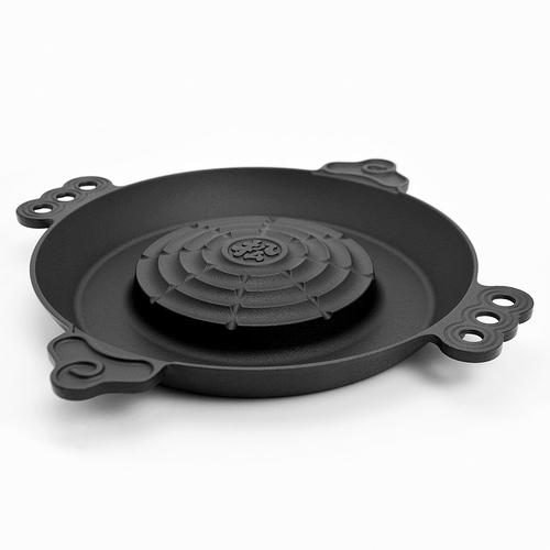 【ガス調理器用】特製ジンギスカン鍋(南部鉄製)