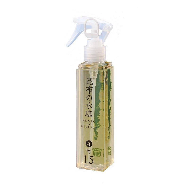 昆布の水塩 森15%