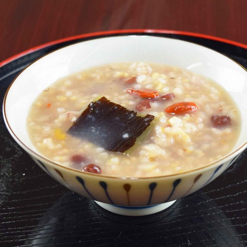 発芽玄米あずき粥