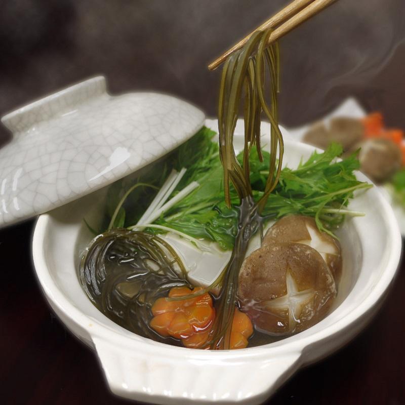 お鍋で食べる昆布