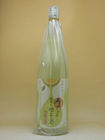 【業務用サイズ!】和歌のめぐみ 龍神の生しぼり柚子酒 1800ml