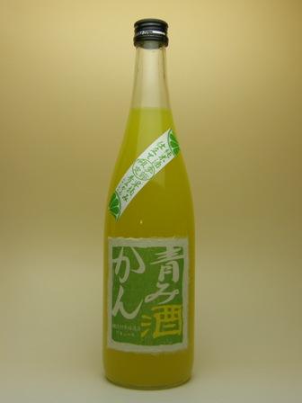 青みかん酒(日本酒仕立て) 720ml