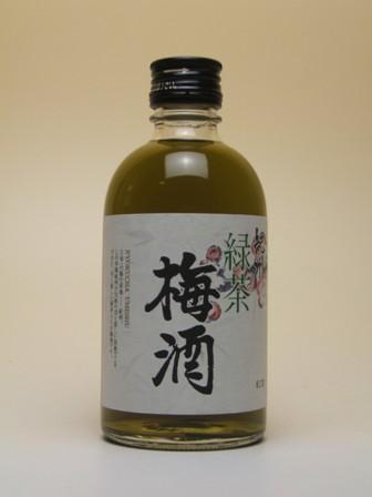 紀州 緑茶梅酒 300ml