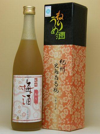 完熟南高梅 紀州 ねり梅酒 720ml(化粧箱入り)