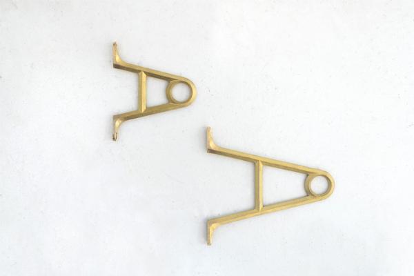 パイプブラケット小 パイプオーダー41�〜70�
