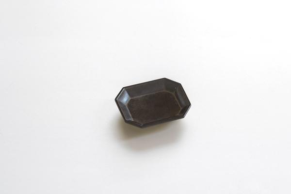 ◆文具トレイ小 黒ムラ