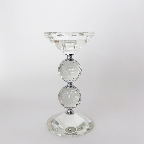 ガラスキャンドルホルダー H20 77315