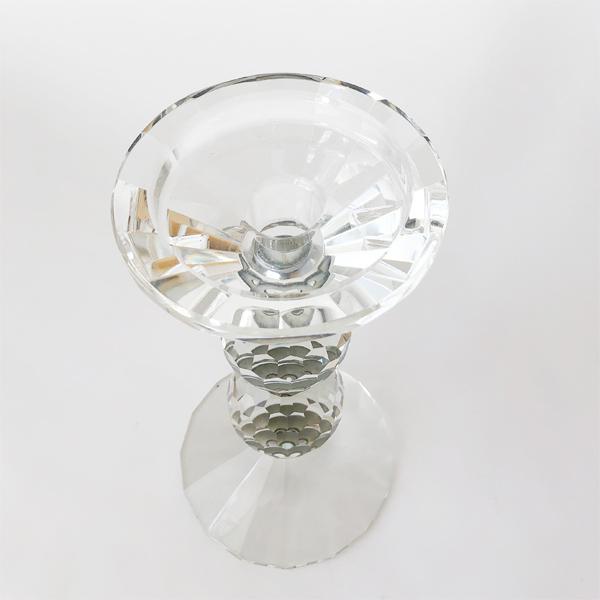 ガラスキャンドルホルダー H25 77316