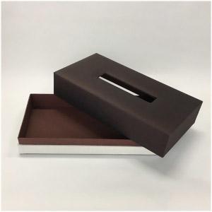 ANI020 ティッシュBOX ブラウン