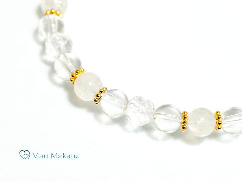 誕生石シリーズ<ムーンストーン> 6月イヌエ(Iune Gold)