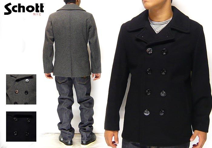Schott[ショット] 753US PEA COAT 24oz/ピーコート/7118/送料無料【Schott】【ショット】