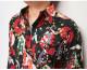 衣櫻 ころもざくら 和柄 長袖シャツ 日本製 メンズ 金粉舞妓 シーチング素材 レギュラー シャツ MADE IN JAPAN SA-1374 送料無料【衣櫻から新作和柄長袖シャツが登場!!】