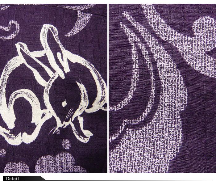 衣櫻[ころもざくら] 波兎柄 和柄長袖シャツ/日本製/SA-902/送料無料【衣櫻】【衣桜】【和柄】【長袖シャツ】