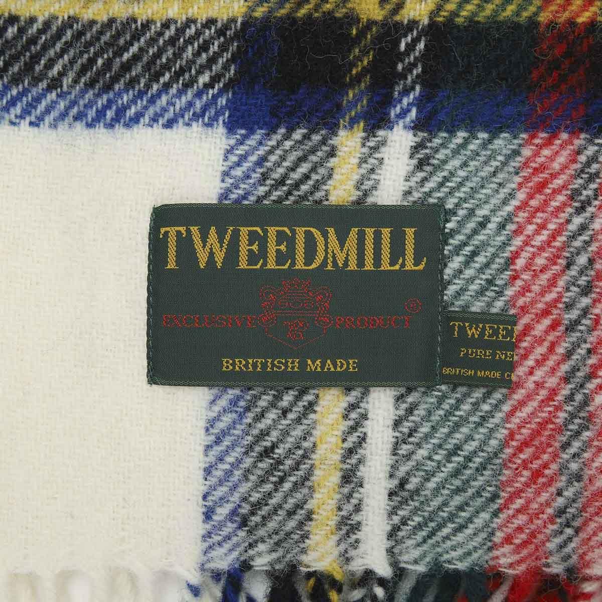 TWEEDMILL ツイードミル 大判 ストール/ブランケット/THTAK レディース