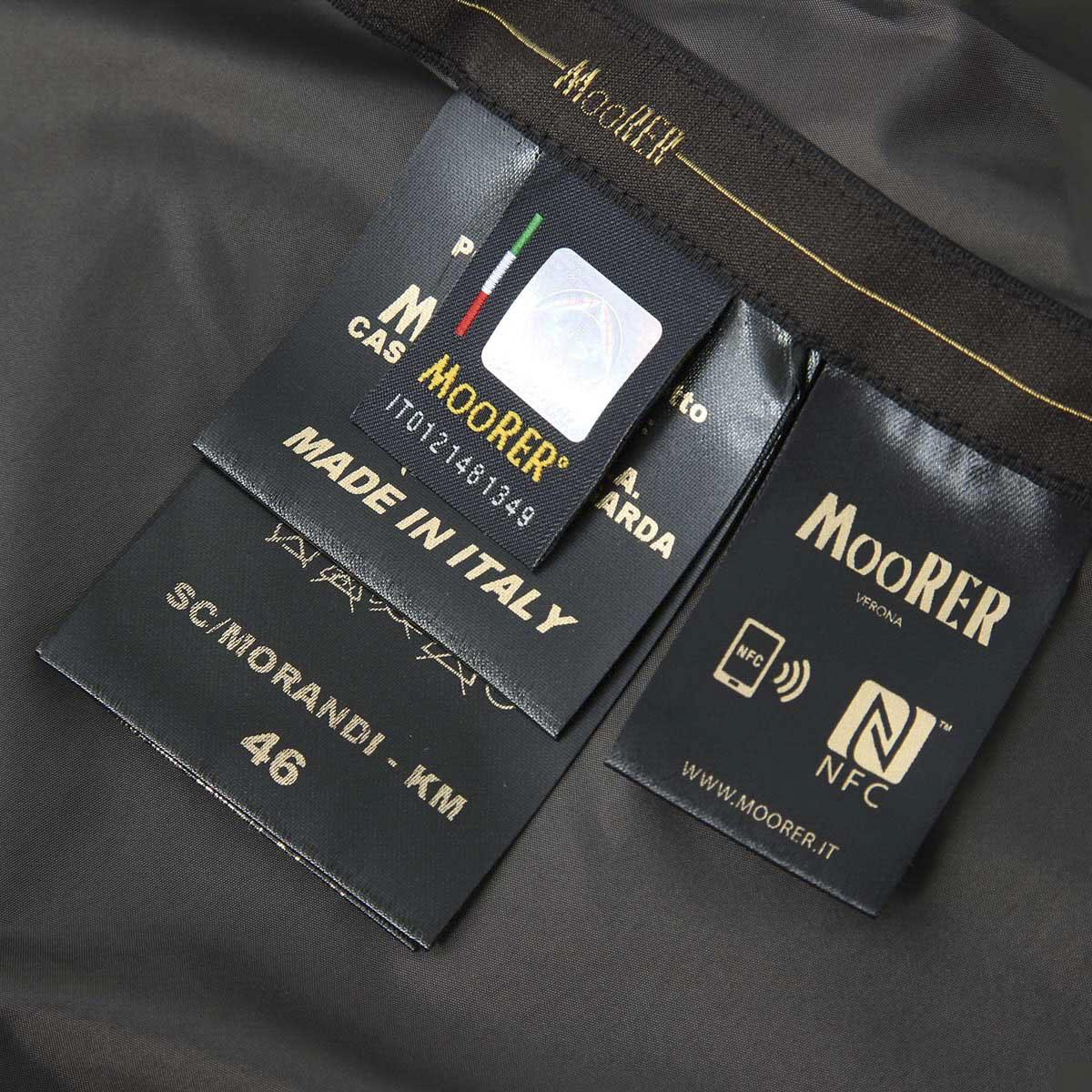 MOORER ムーレー ナイロンコート/SC / MORANDI メンズ