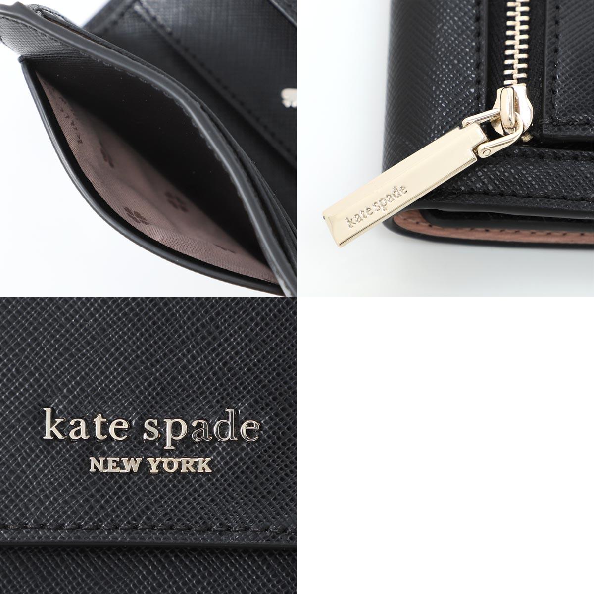 Kate Spade ケイトスペード 3つ折り財布 小銭入れ付き/SPENCER スペンサー レディース
