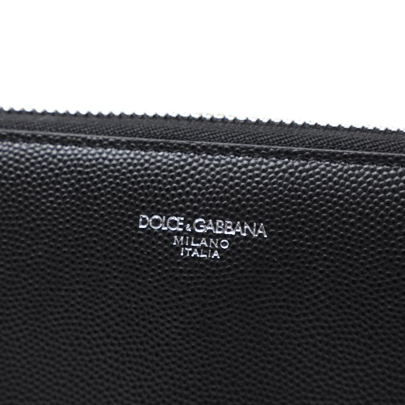 DOLCE&GABBANA  ドルチェ&ガッバーナ ラウンドファスナー 長財布 小銭入れ付き/ROUND WALLET メンズ