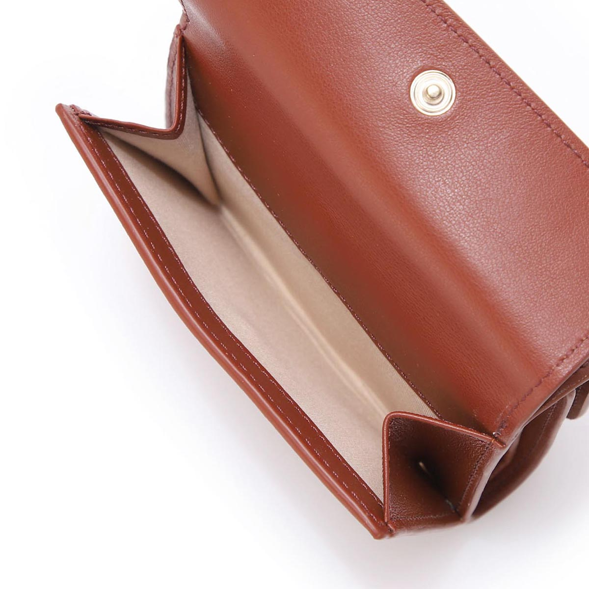 Chloe クロエ 3つ折り財布 小銭入れ付き/ALPHABET レディース